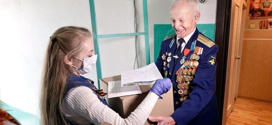 В Тульской области ветераны Великой Отечественной получают посылки ко Дню Победы