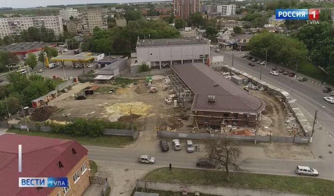 В Туле завершается строительство сразу двух автостанций