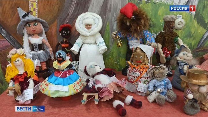Щекинские мастера представили «Галерею кукол»