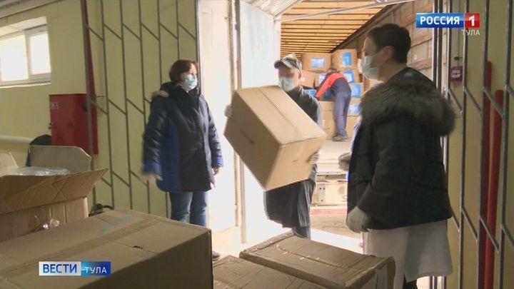 В Тульской области обеспечен достаточный запас средств индивидуальной защиты для медиков