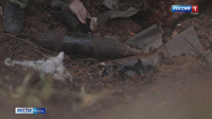 Управлением противопожарной службы обезврежены обнаруженные в Туле артиллерийские снаряды
