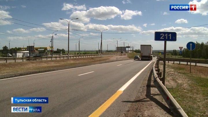 На трассе «Дон» в Тульской области монтируют новые остановочные павильоны