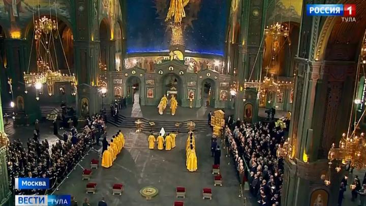 В столичном парке «Патриот» освятили Главный храм Вооруженных Сил России