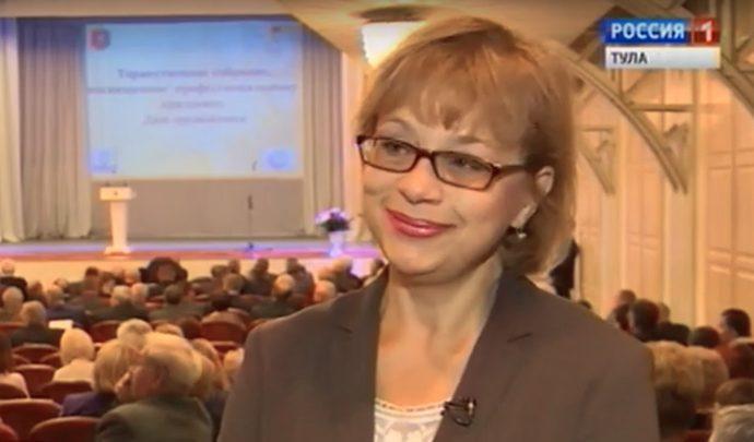 Редактор ГТРК «Тула» Ирина Зарубина отметила свой юбилей