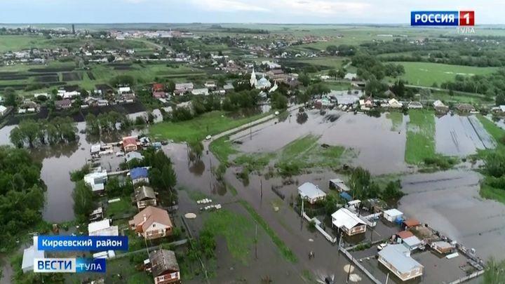Село Дедилово затопило