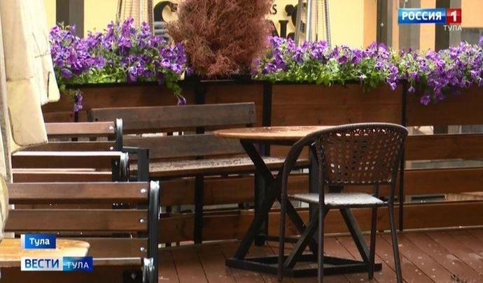 В Туле 35 кафе и ресторанов готовятся к открытию летних веранд
