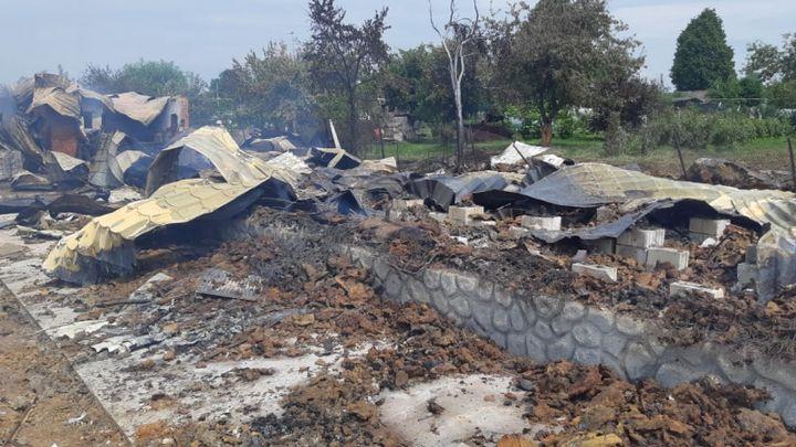 На пожаре в заокской организации по реабилитации инвалидов погиб человек
