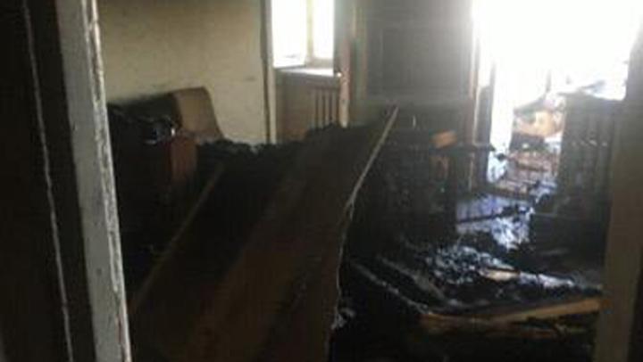 В Ефремове пожар унёс жизнь 37-летнего мужчины