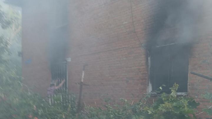 В Первомайском сгорели две квартиры