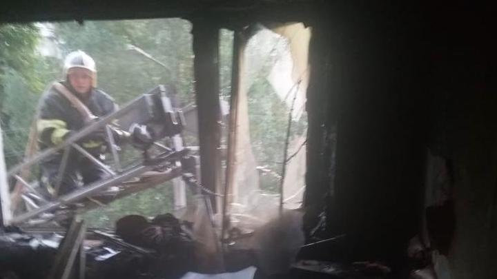 На Мезенцева в Туле в пожаре пострадали 8 человек