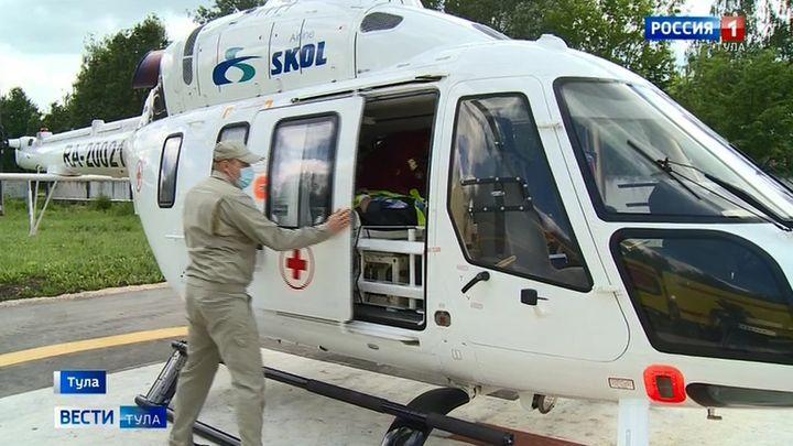 Тульская санавицация с начала года спасла 60 жизней