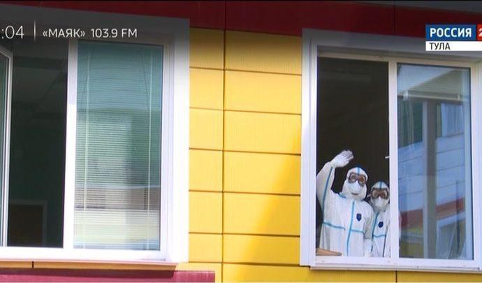 Тульские врачи отметят День медработника на коронавирусной передовой
