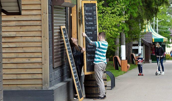 В Тульской области открываются кафе и рестораны