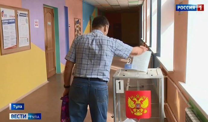 Ровно в 8 утра открылись все избирательные участки в Тульской области