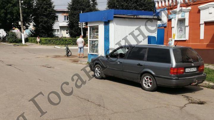 В Богородицке подросток на велосипеде угодил под машину