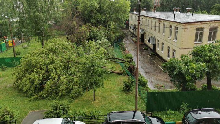 Городские службы приступили к ликвидации последствий стихии