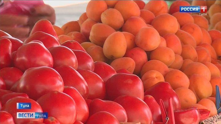 Как тулякам выбрать спелые фрукты и овощи?