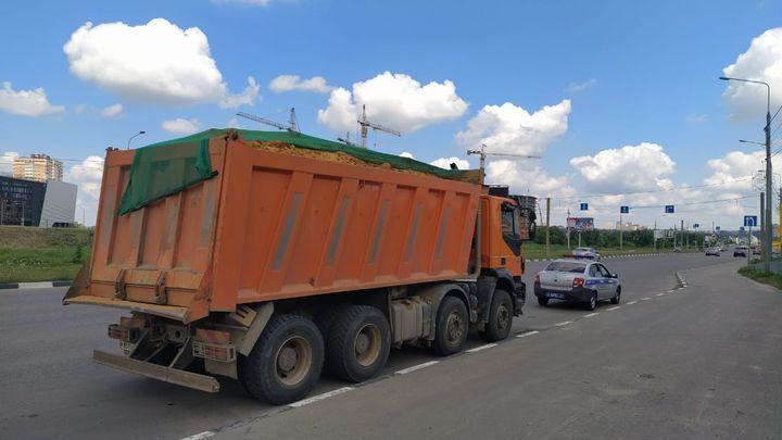 В Туле в ходе рейда начали штрафовать водителей грузовиков