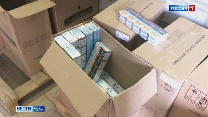 В Туле выявлены подозреваемые в незаконном обороте табачной продукции