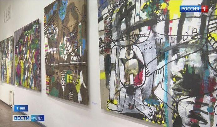 В выставочном зале Тулы открылась юбилейная выставка Олега Ланга