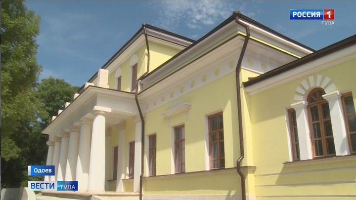 В Одоеве идет реставрация четырех исторических объектов