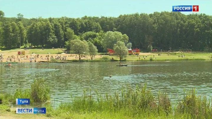 На пляже в Центральном парке Тулы установят ещё одну спасательную вышку
