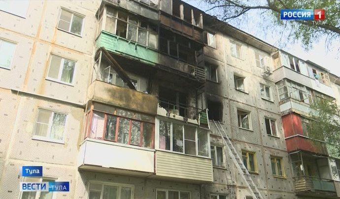 В Туле умышленный поджог унес три жизни