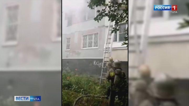 Пожар на улице Галкина унес жизнь туляка
