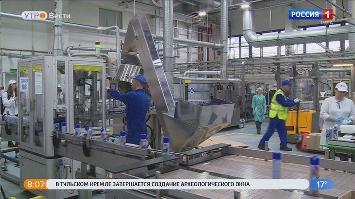 Тульская область стала лидером в рейтинге регионов по динамике промышленного производства
