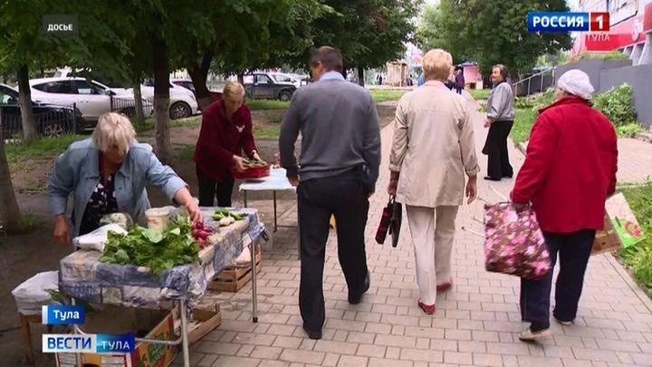 В Заречье снова разогнали уличных торговок