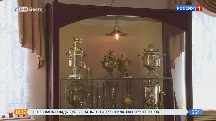«Тульские самовары» временно переехали в кремль
