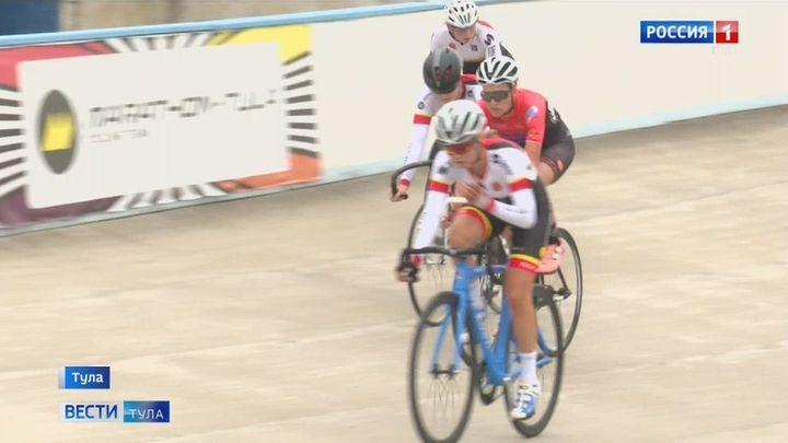 На Тульском велотреке стартовало открытое первенство Тульской области по велосипедному спорту