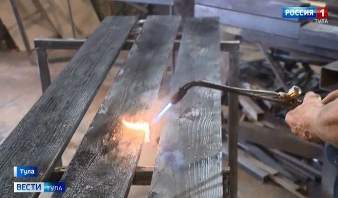 Туляки изготовили угольное дерево, не пачкающее руки