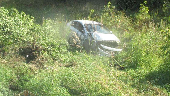 В Кимовском районе водитель устроил ДТП, сбежал и напился