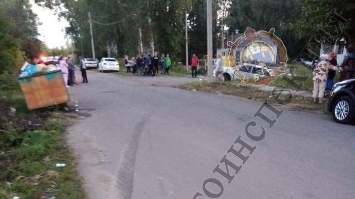 ДТП в Товарковском: мать пустила за руль сына-подростка