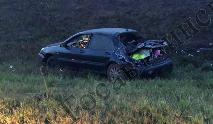 На тульской трассе водитель, перевозивший ребёнка, заснул за рулём