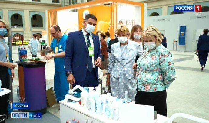 Туляки поделились в Москве опытом борьбы с коронавирусом
