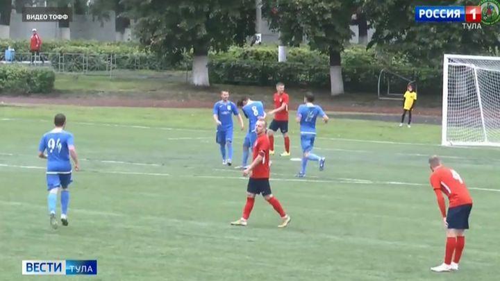 В четырёх городах Тульской области сегодня будет футбол