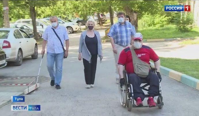 Управляющая компания «Жилсервис» не позаботилась о доступе инвалидов в свой офис
