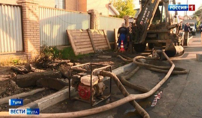 В Мясново восстановили водоснабжение