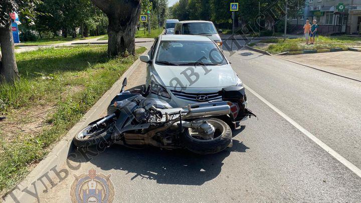 Самые незащищённые участники дорожного движения попали в ДТП в Тульской области