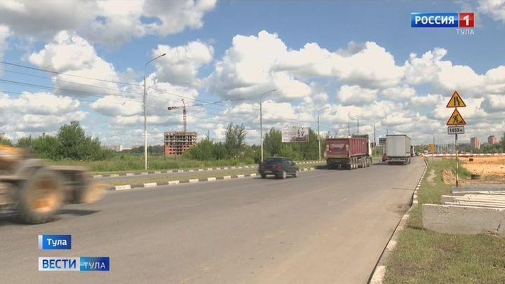 В Туле ограничат движение на Восточном обводе
