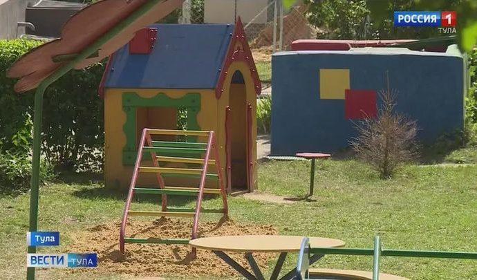 Детские игровые площадки Пролетарского округа привели в порядок после проверки прокуратуры