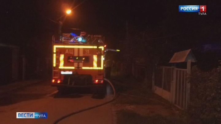 Пожар в посёлке Первомайский унёс жизнь человека
