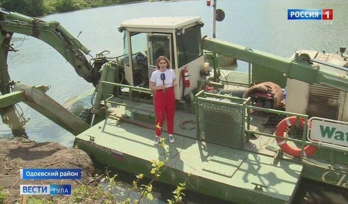 В Тульской области впервые масштабно чистят Упу и Оку