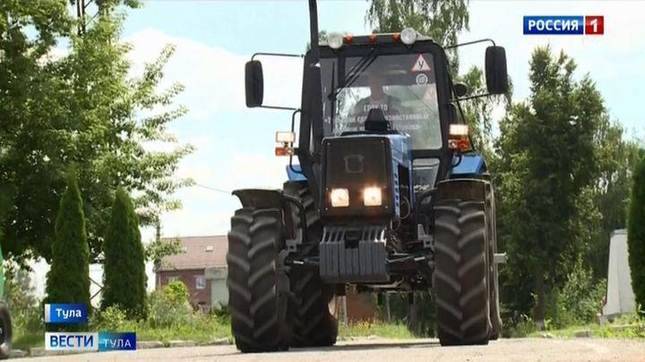 Тульский сельхозколледж сможет купить трактор на средства гранта