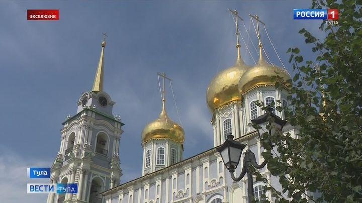 Успенский собор Тульского кремля переживает второе рождение