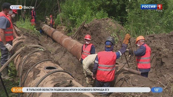 Часть Пролетарского округа Тулы останется на сутки без воды