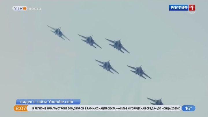 В России отмечается День военно-воздушных сил