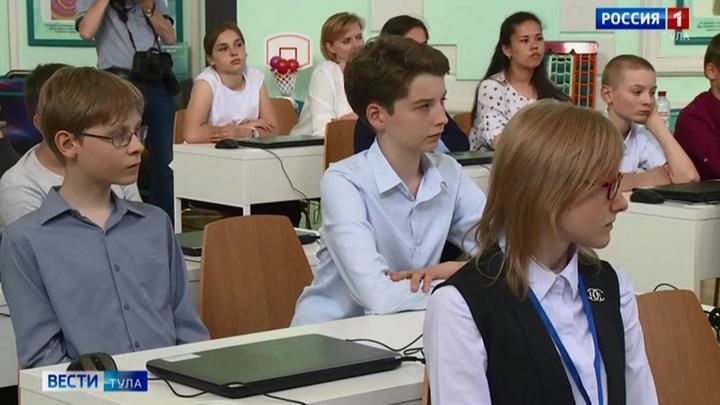 Министр рассказал тульским школьникам об искусственном интеллекте